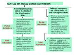 partial or total cenoe activation