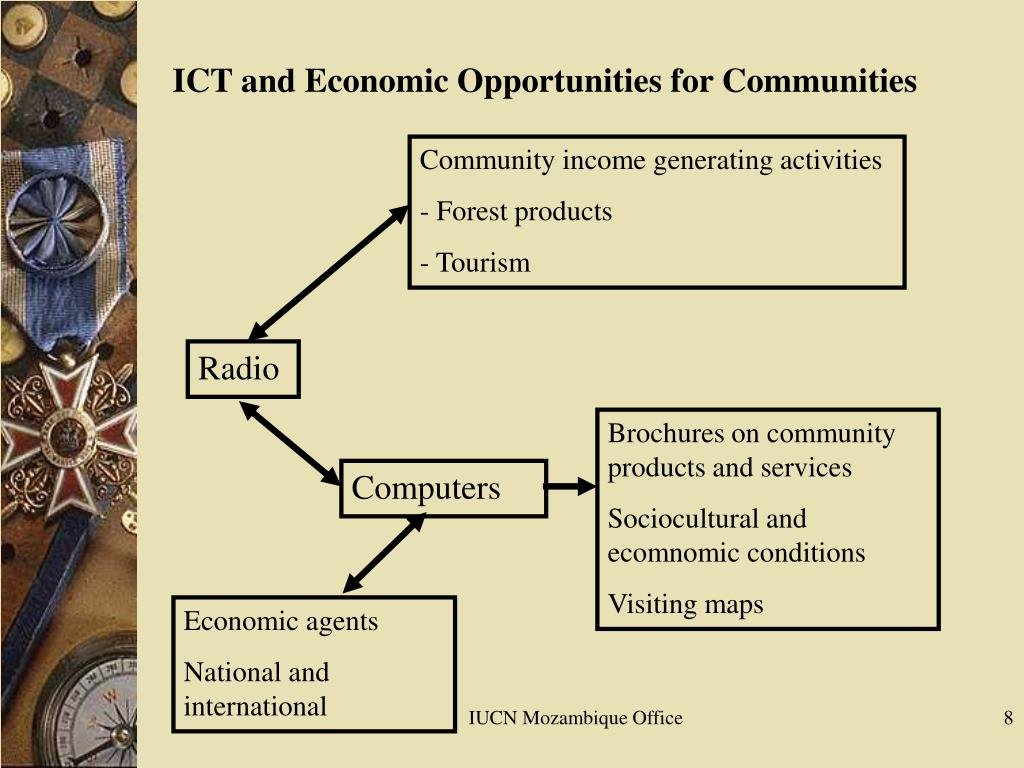 Community income generating activities