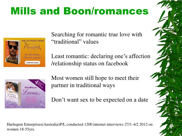 Mills and Boon/romances