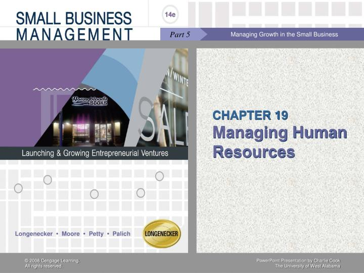 chapter 19 managing human resources n.