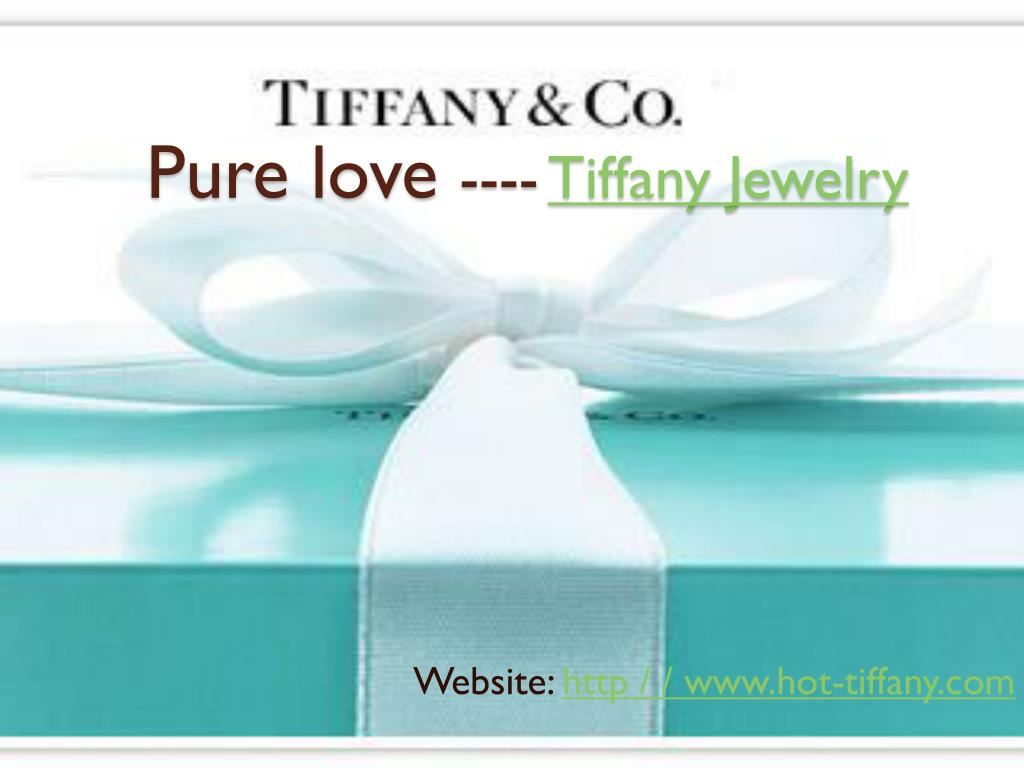 pure love tiffany jewelry l.