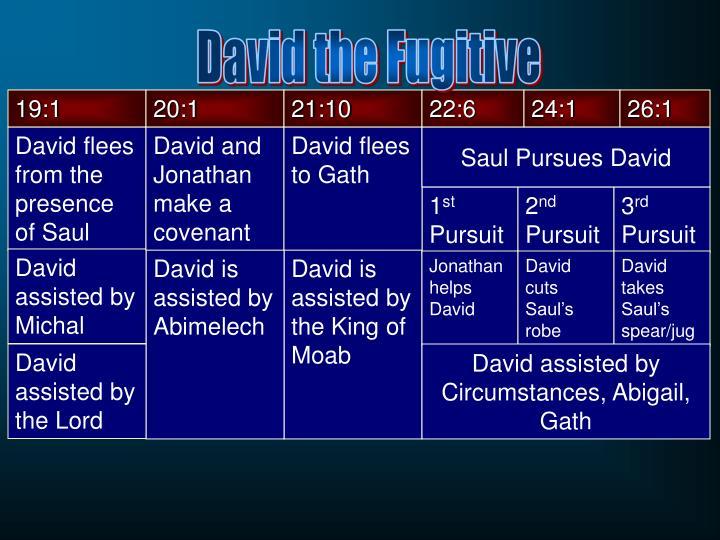 David the Fugitive