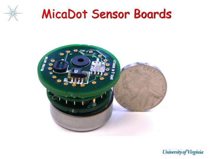 MicaDot Sensor Boards
