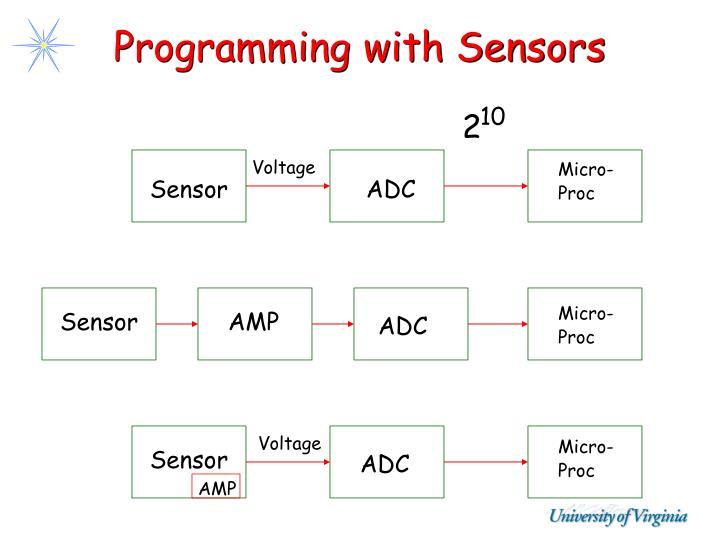 Programming with Sensors