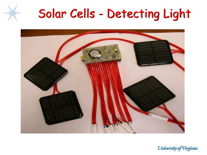 Solar Cells - Detecting Light