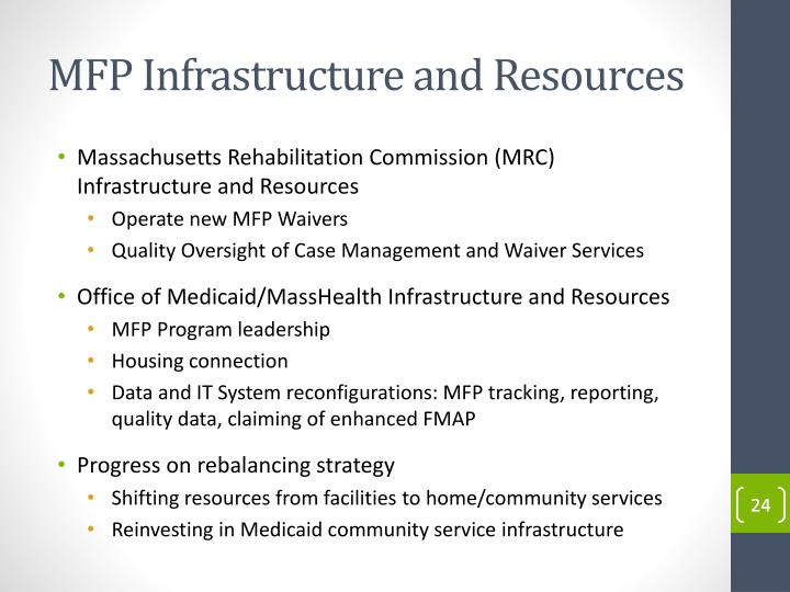MFP Infrastructure and Resources