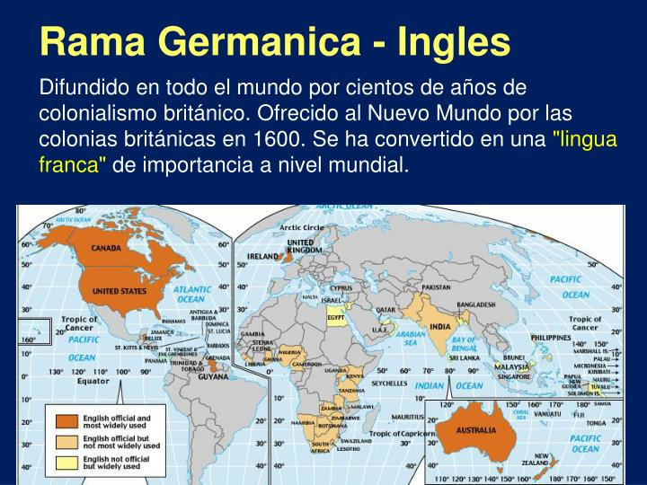 Rama Germanica - Ingles