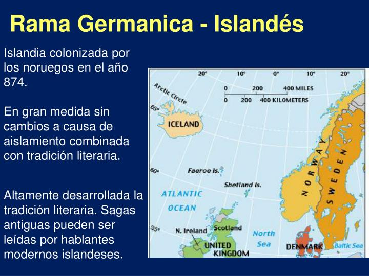 Rama Germanica - Islandés