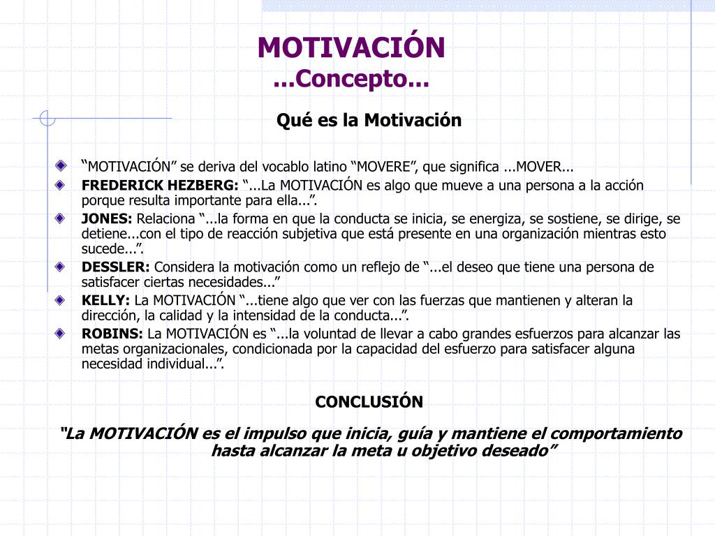 Ppt Motivación Powerpoint Presentation Free Download Id
