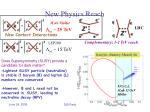 new physics reach1