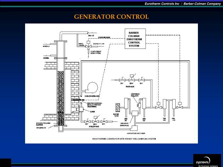 GENERATOR CONTROL
