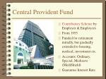 central provident fund