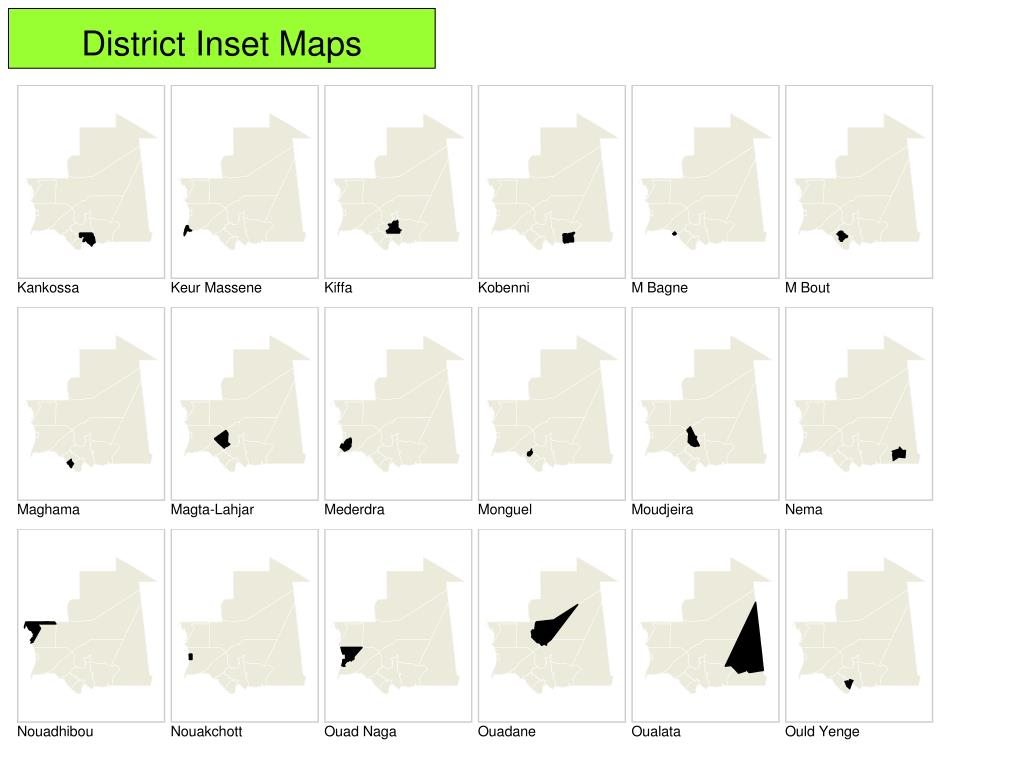 District Inset Maps