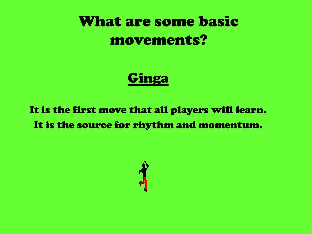 What are some basic movements?