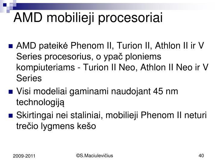 AMD mobili