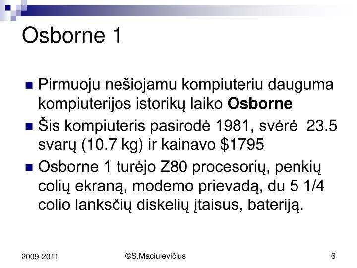 Osborne 1
