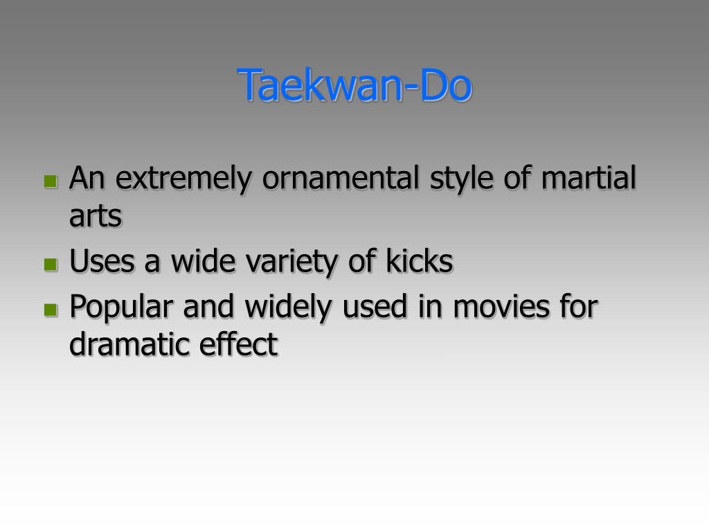 Taekwan-Do