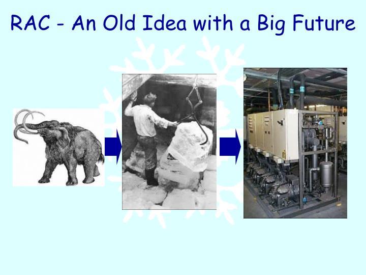 Rac an old idea with a big future