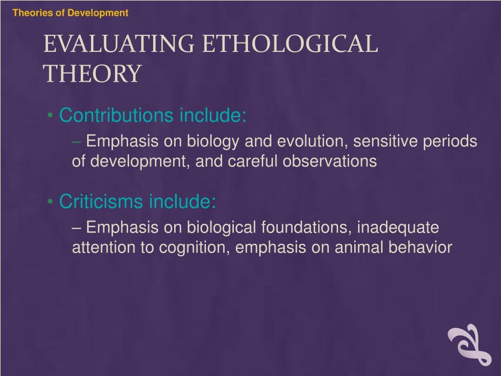 PPT - Ethological Theory PowerPoint Presentation, free