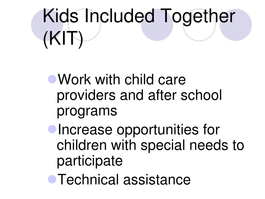 Kids Included Together (KIT)
