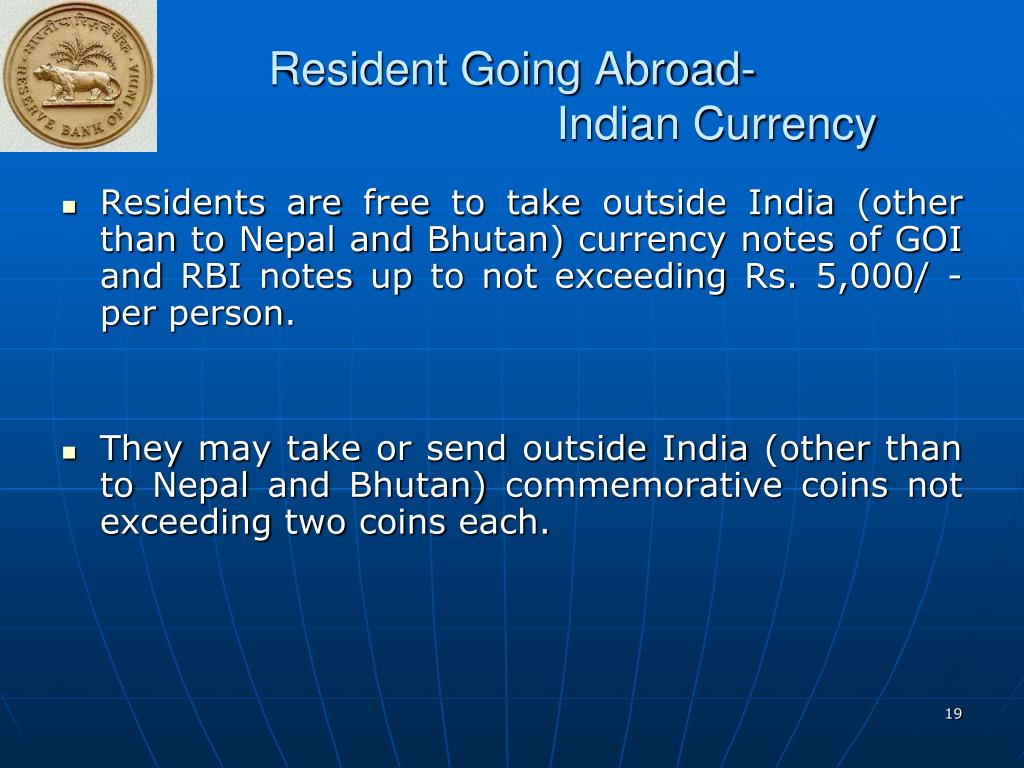 Resident Going Abroad-