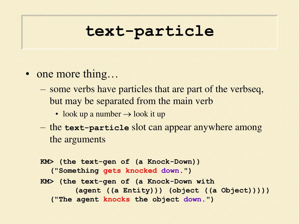 text-particle