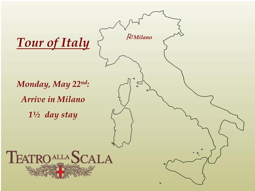 Tour of Italy