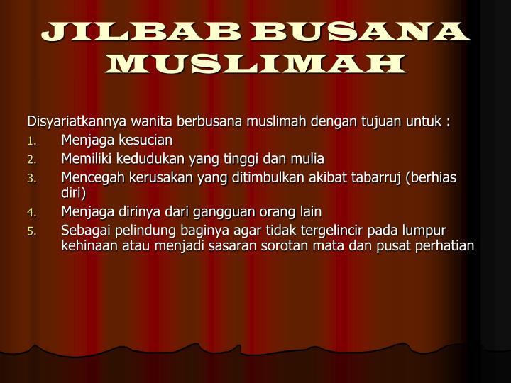 Jilbab busana muslimah1