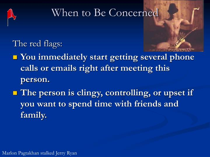 When to Be Concerned