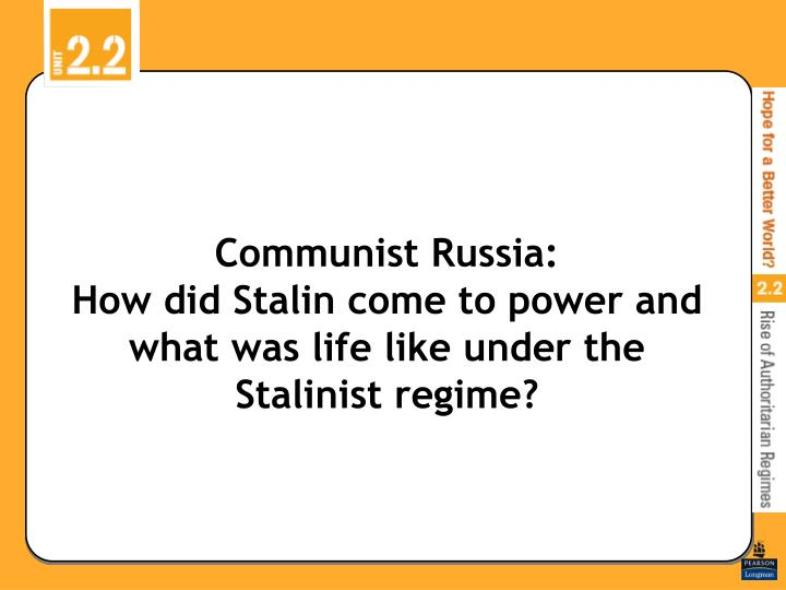 how did stalin achieve and maintain power How did joseph stalin maintain power in the soviet union during the great terror through a combination of fear and massive propaganda share to.