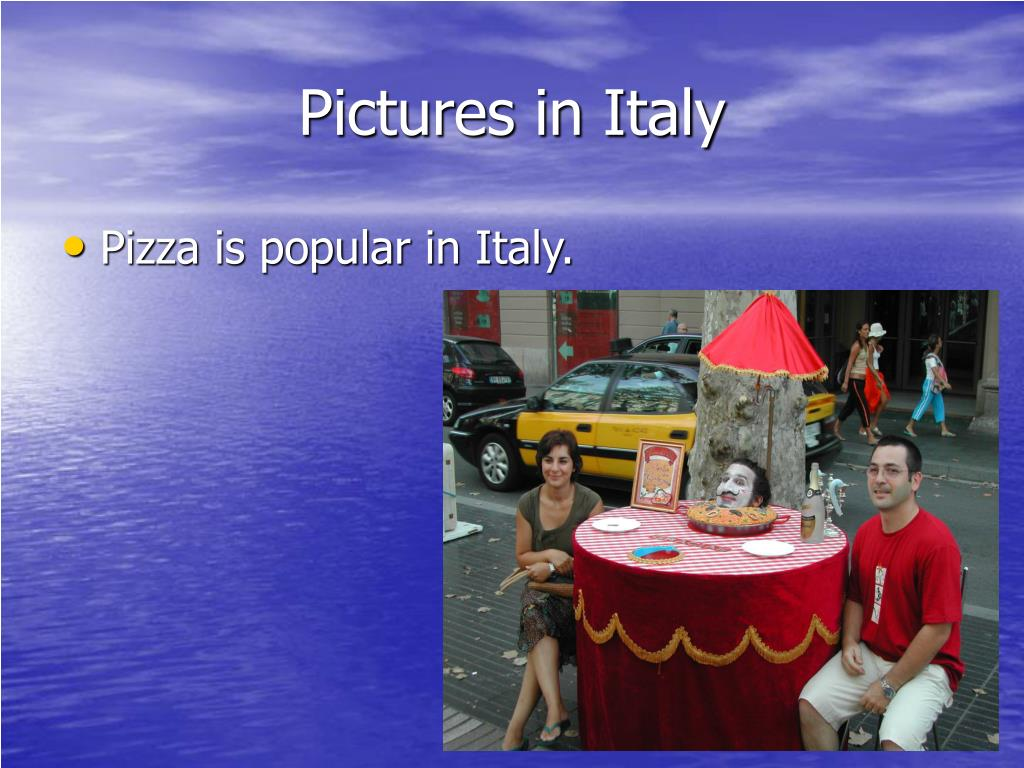 Pictures in Italy