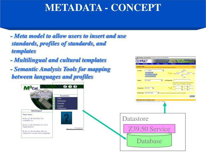 METADATA - CONCEPT
