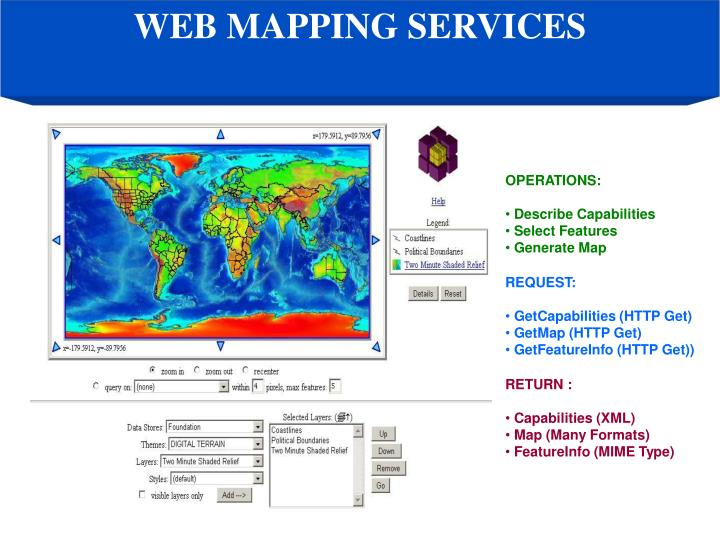 WEB MAPPING SERVICES