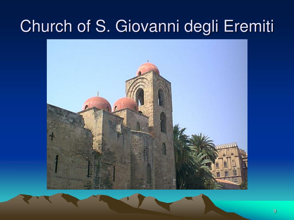 Church of S. Giovanni degli Eremiti