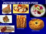 pictures of french food