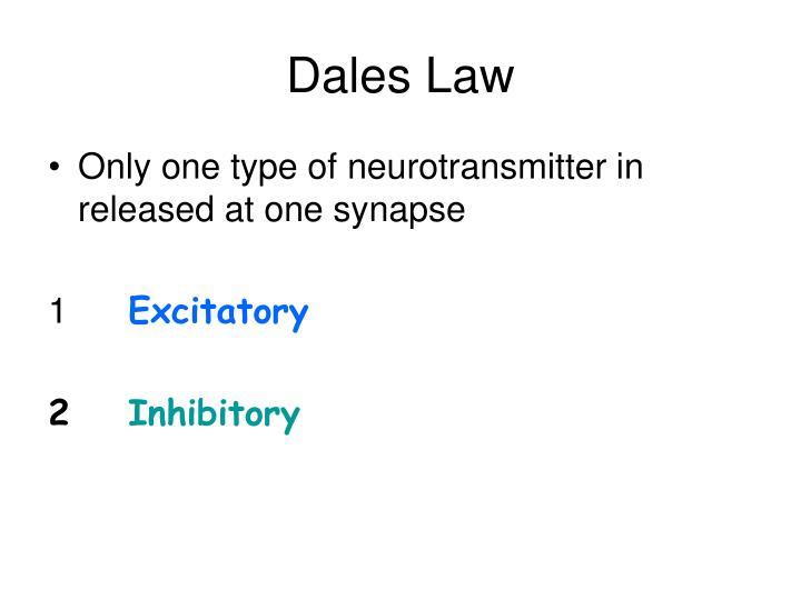Dales Law