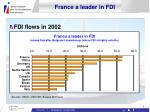 france a leader in fdi