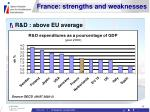 france strengths and weaknesses13
