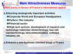 main attractiveness measures18