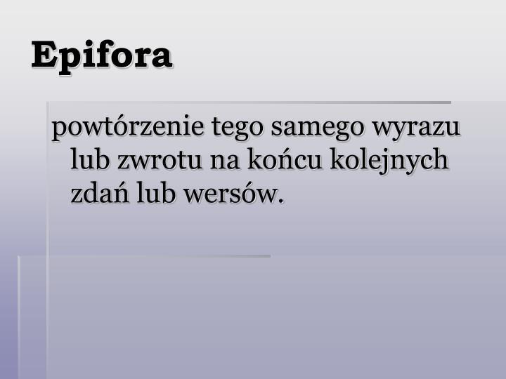Epifora