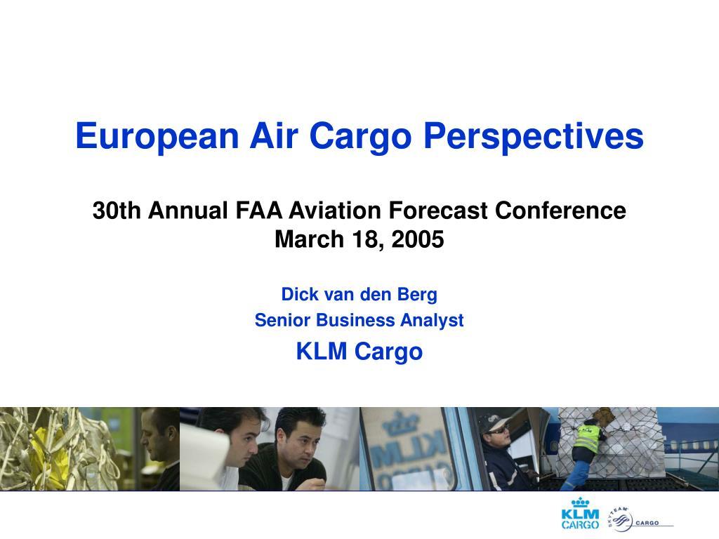 European Air Cargo Perspectives