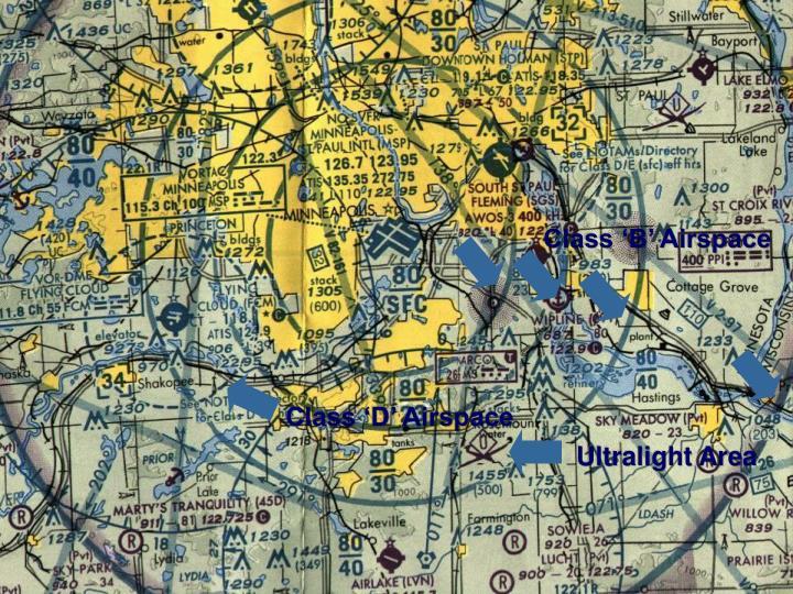Class 'B' Airspace