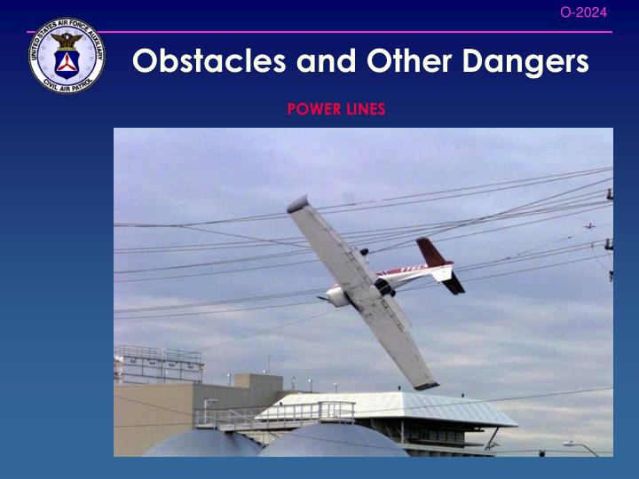 Obstacles and Other Dangers