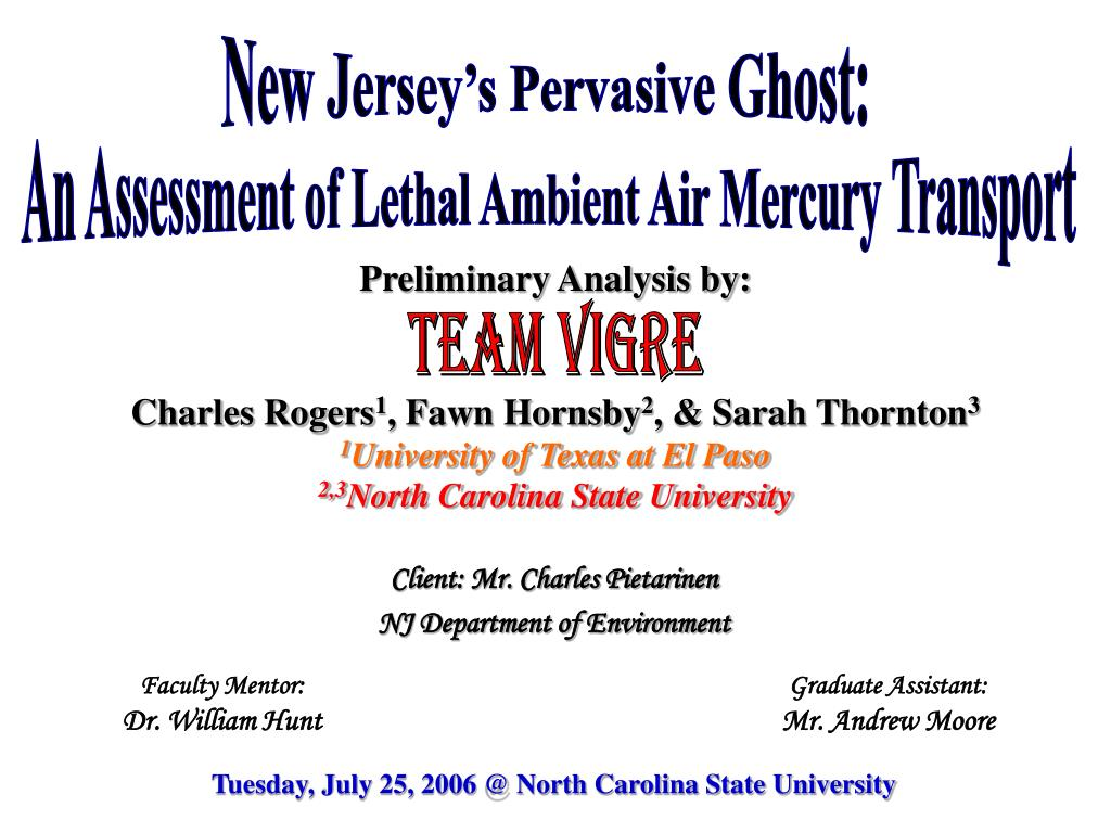 New Jersey's Pervasive Ghost: