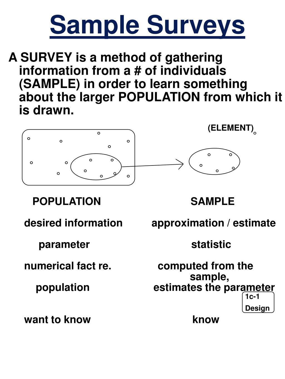 ppt sample surveys powerpoint presentation id 1082386