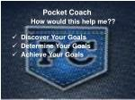 how would this help me discover your goals determine your goals achieve your goals