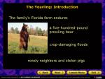 the yearling introduction4