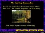 the yearling introduction7