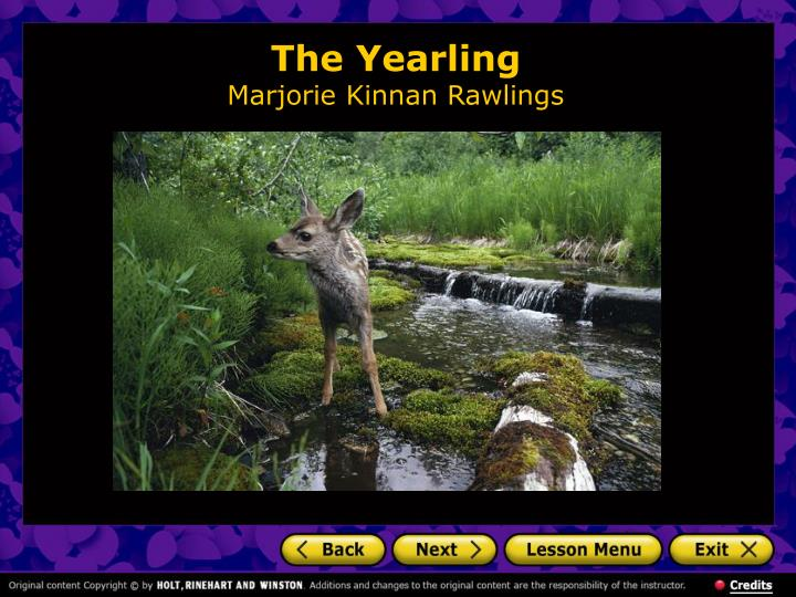 The yearling marjorie kinnan rawlings2