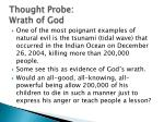 thought probe wrath of god